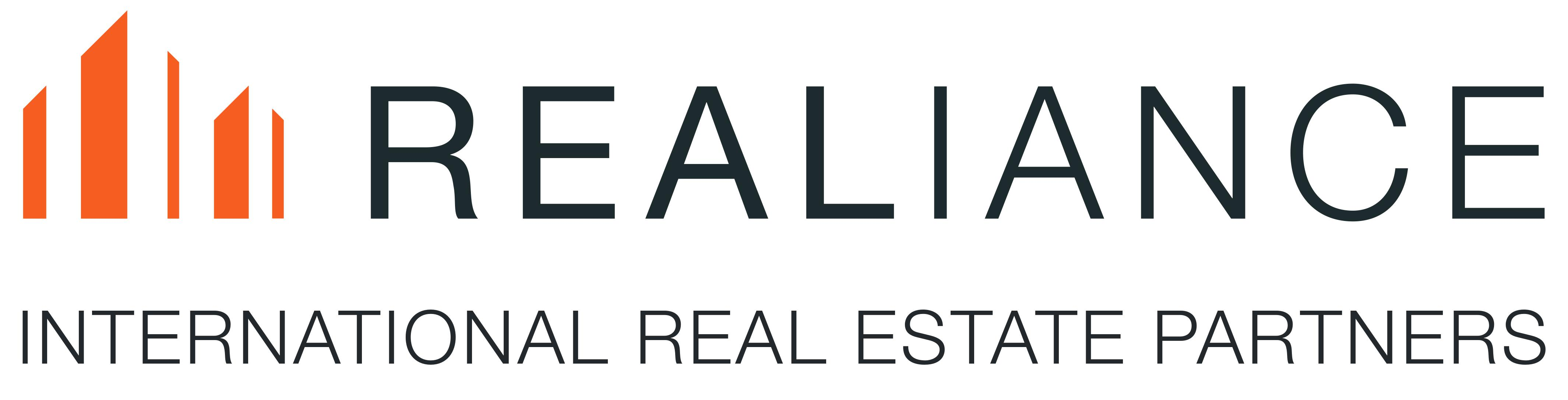 logo realiance int real est partners